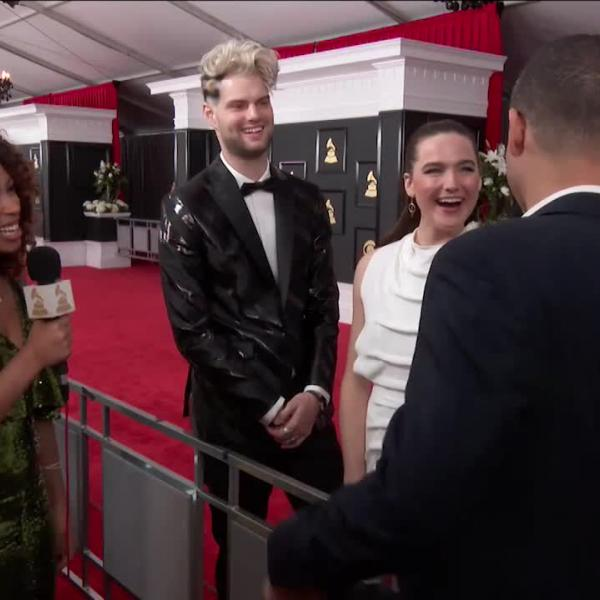 Sofi Tukker: GRAMMY Red Carpet Interview