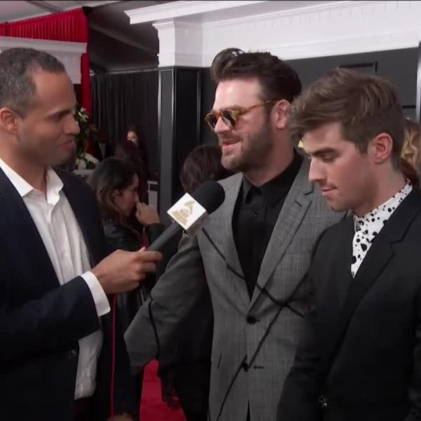 The Chainsmokers: GRAMMY Red Carpet Interview