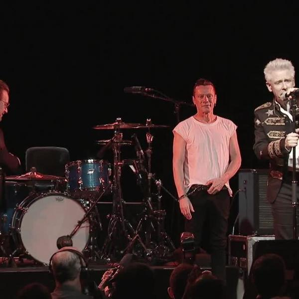 Highlights: U2's Adam Clayton honored by MusiCares