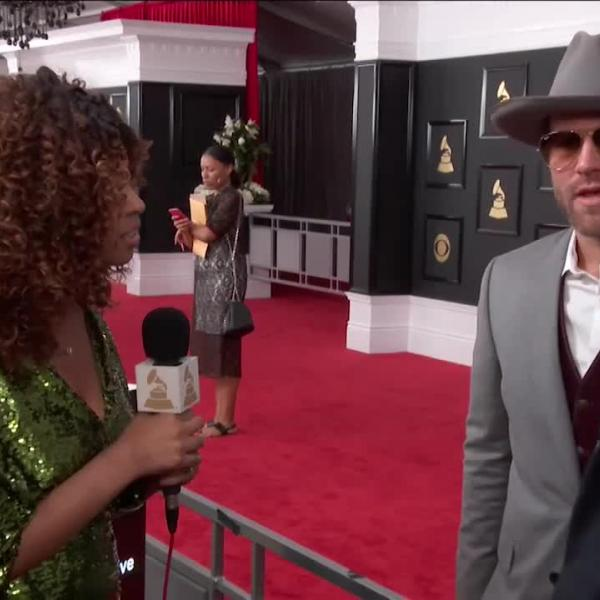 Drake White on walking GRAMMY red carpet, Maren Morris