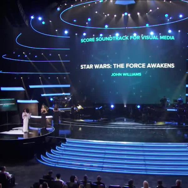 Star Wars: The Force Awakens Wins Best Score Soundtrack For Visual Media