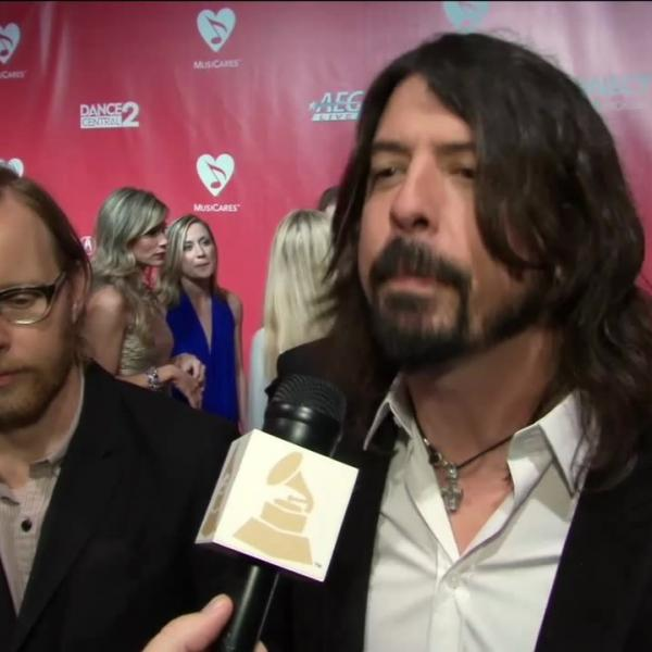Foo Fighters At 2012 MusiCares Person Of The Year