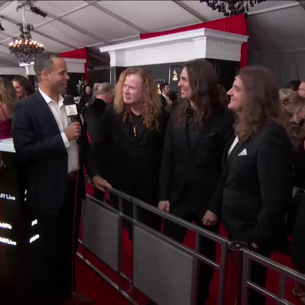 Megadeth: GRAMMY Red Carpet Interview
