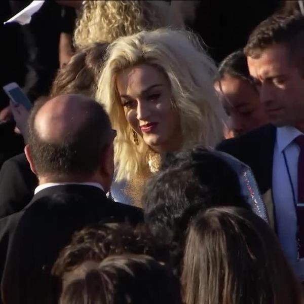 Katy Perry: GRAMMY Limo Cam