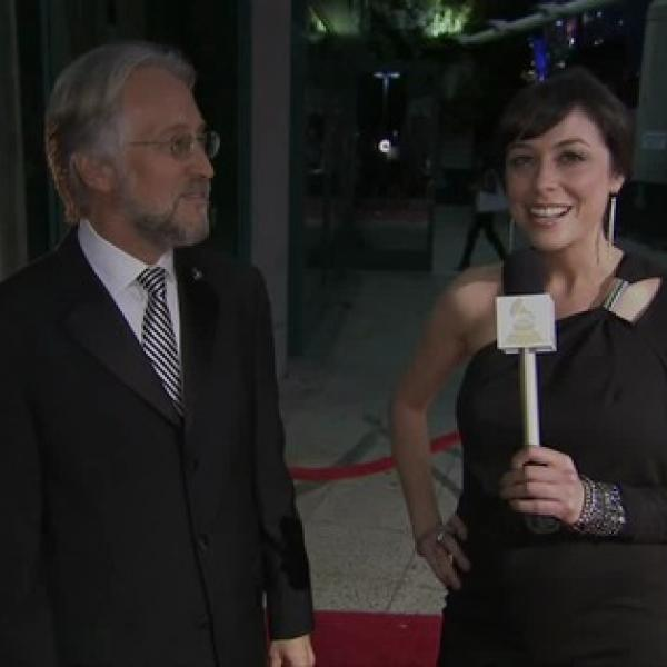 Recording Academy President/CEO Neil Portnow At MusiCares Person Of The Year Red Carpet, Part Two