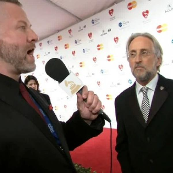 Recording Academy President/CEO Neil Portnow At MusiCares Person Of The Year Red Carpet, Part One