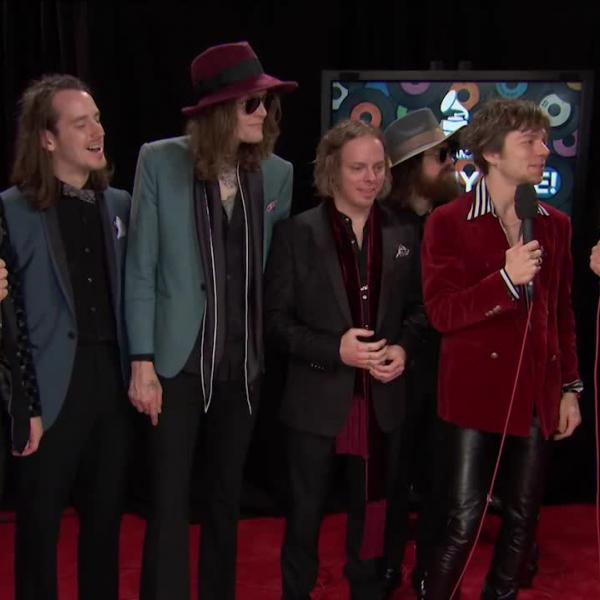 Cage The Elephant: GRAMMY Backstage Interview