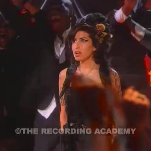 Amy Winehouse wins 2008 Record Of The Year GRAMMY