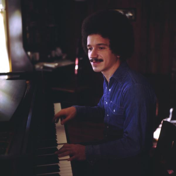 Keith Jarrett playing piano