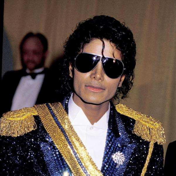 Michael Jackson at the 26th GRAMMY Awards in 1984