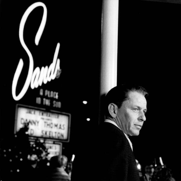 Frank Sinatra performs in 1960