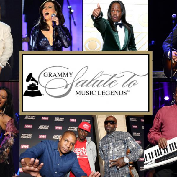 """Performers for """"GRAMMY Salute To Music Legends"""""""