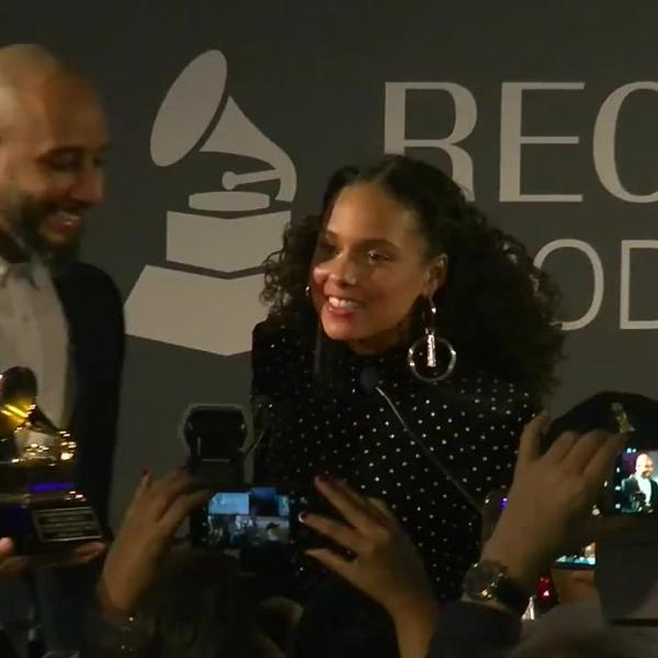 Alicia Keys & Swizz Beats Accept 2018 P&E Honors