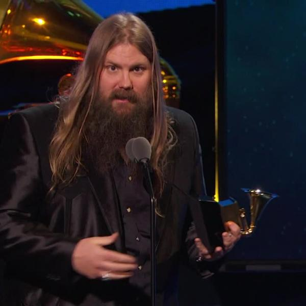 Chris Stapleton Wins Best Country Solo Performance | 2018 GRAMMYs