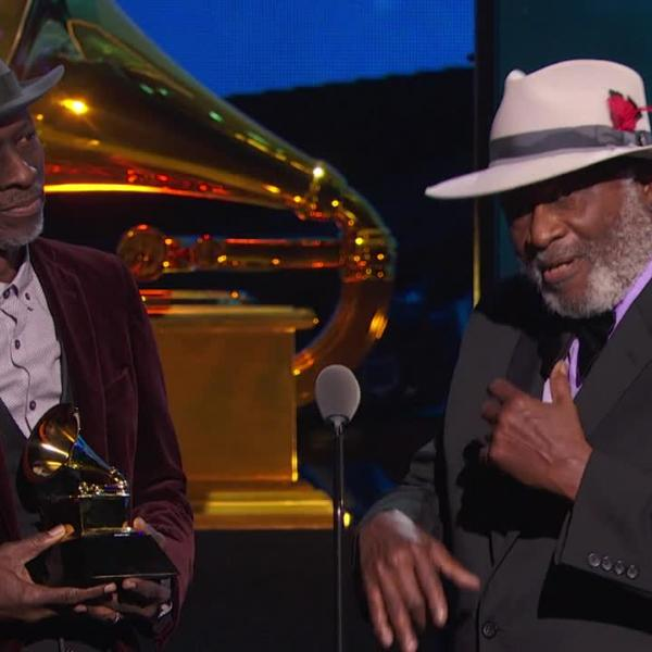 Keb' Mo' & Taj Mahal Best Contemporary Blues Album Acceptance Speech