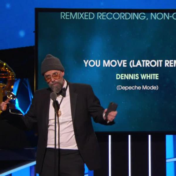 Watch: Latroit Wins Best Remixed Recording