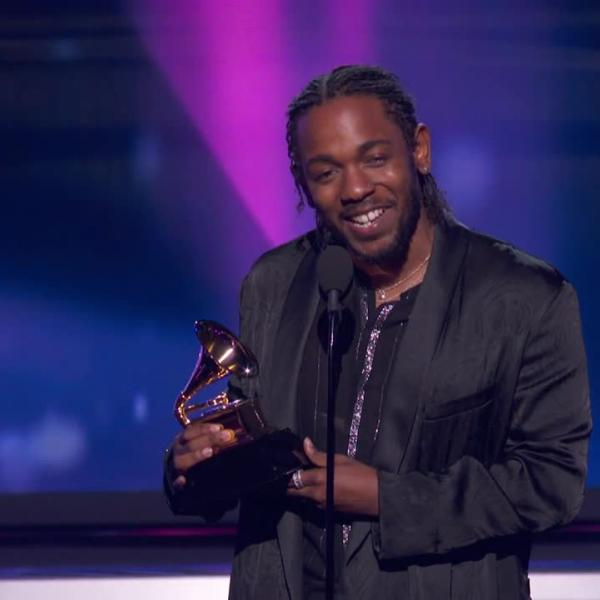 Watch: Kendrick Lamar Wins Best Rap Album