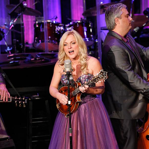 Rhonda Vincent performs at The Grand Ole Opry at Ryman Auditorium in 2014