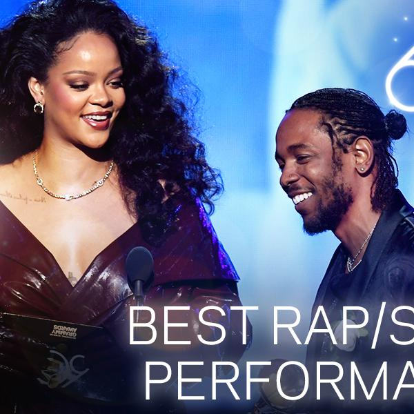 Rihanna and Kendrick Lamar