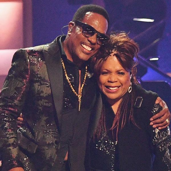 Charlie Wilson and Valerie Simpson