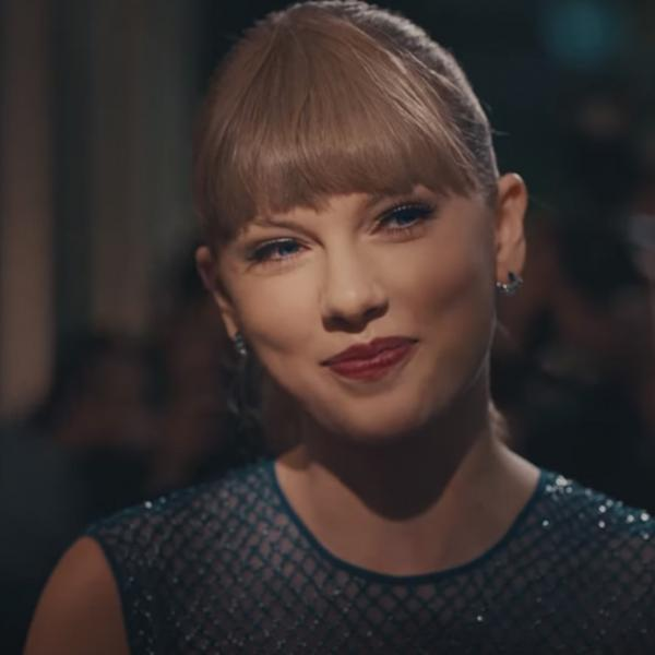 "Taylor Swift in the music video for ""Delicate"""