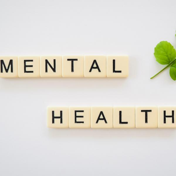 Photo of mental health graphic