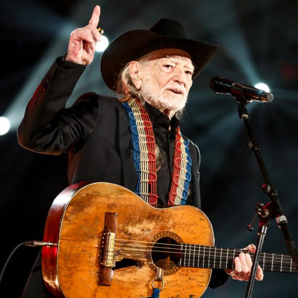 Willie Nelson performs at MusiCares Person of the Year in 2019