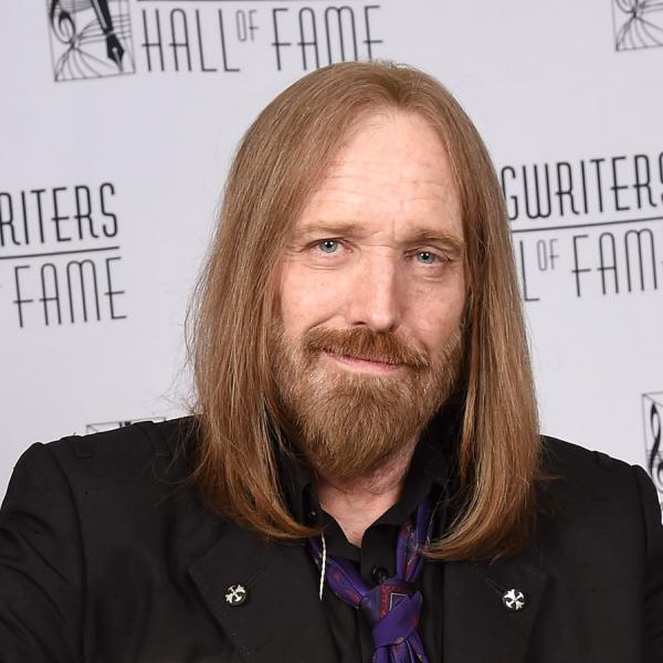 Tom Petty at the 2016 Songwriters Hall of Fame induction
