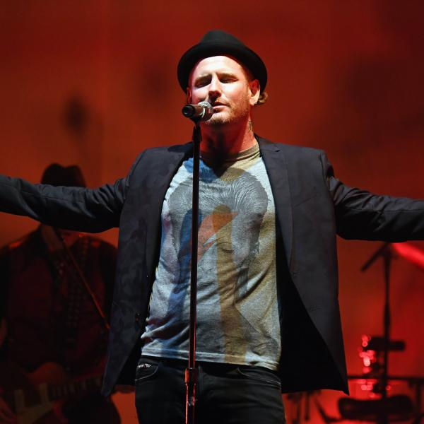Corey Taylor perform at the Wiltern Theater in 2017