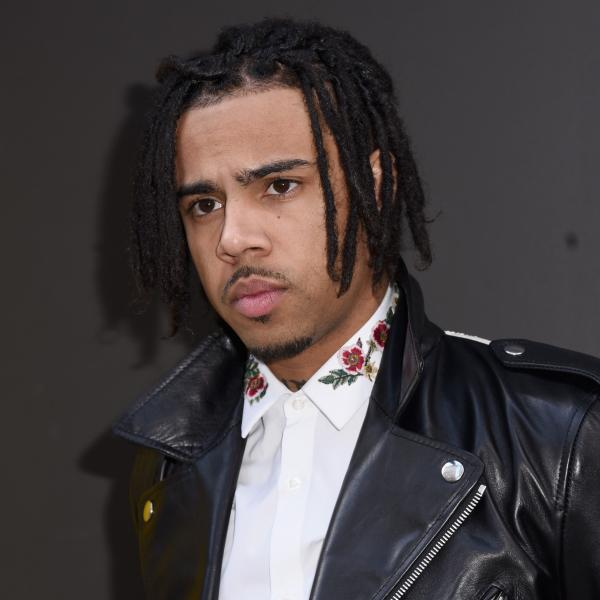Vic Mensa photographed in New York in 2017