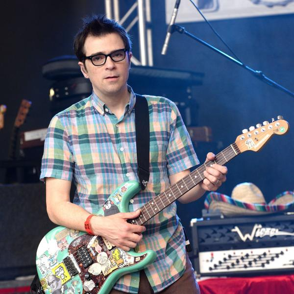 Rivers Cuomo photographed in 2017