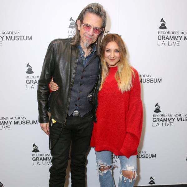 Scott Goldman and Julia Michaels at the GRAMMY Museum