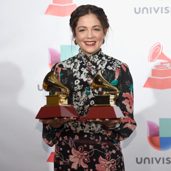 Natalia Lafourcade at the 18th Latin GRAMMY Awards