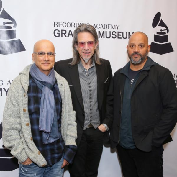 Jimmy Iovine, Scott Goldman and Allen Hughes at the GRAMMY Museum