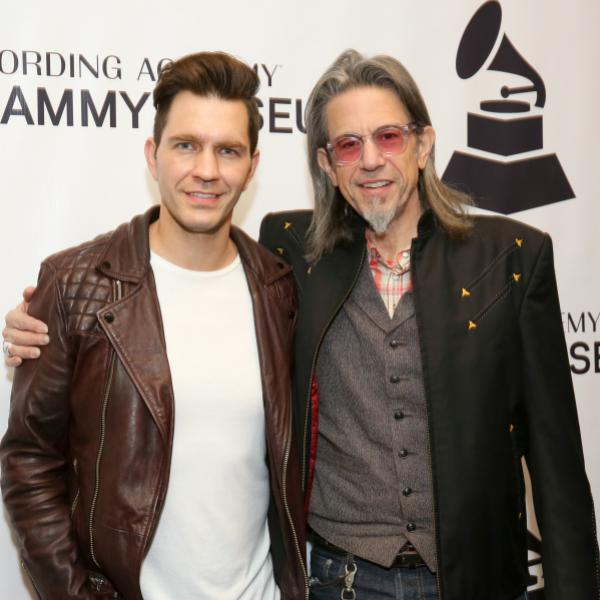Andy Grammer and Scott Goldman at the GRAMMY Museum