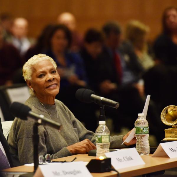 Dionne Warwick at House Judiciary Committee hearing