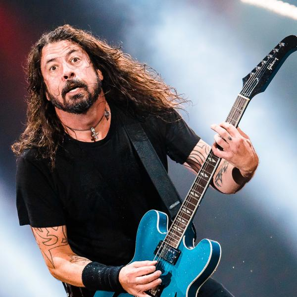 Dave Grohl photographed in 2018