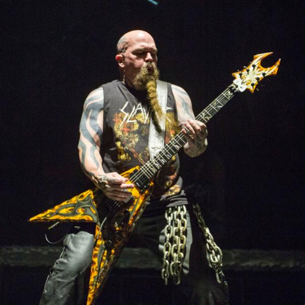Slayer's Kerry King, 2018