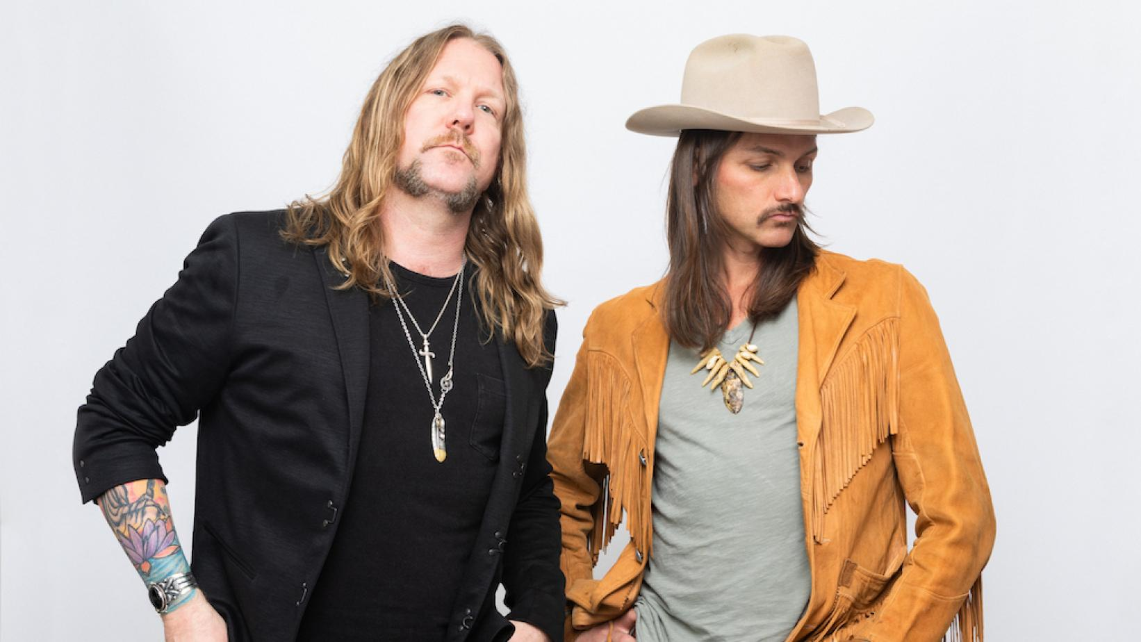 Devon Allman (L) and Duane Betts (R) of The Allman Betts Band