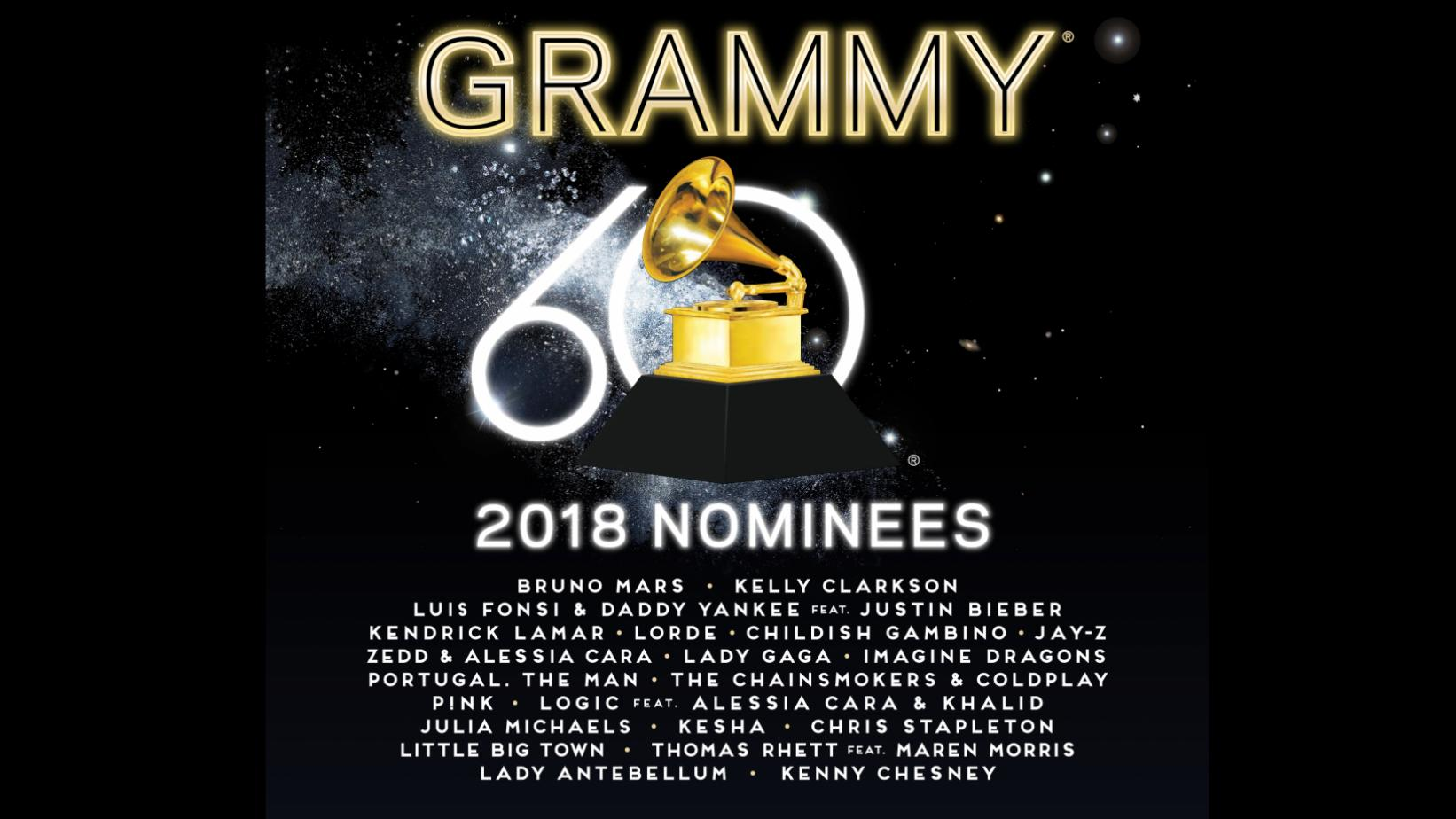 '2018 GRAMMY Nominees' album
