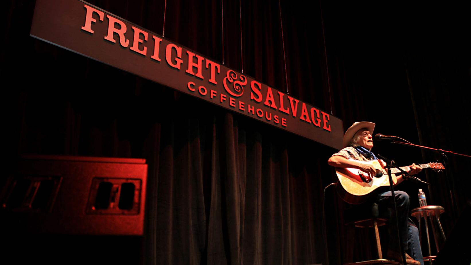 Ramblin' Jack Elliott at The Freight & Salvage