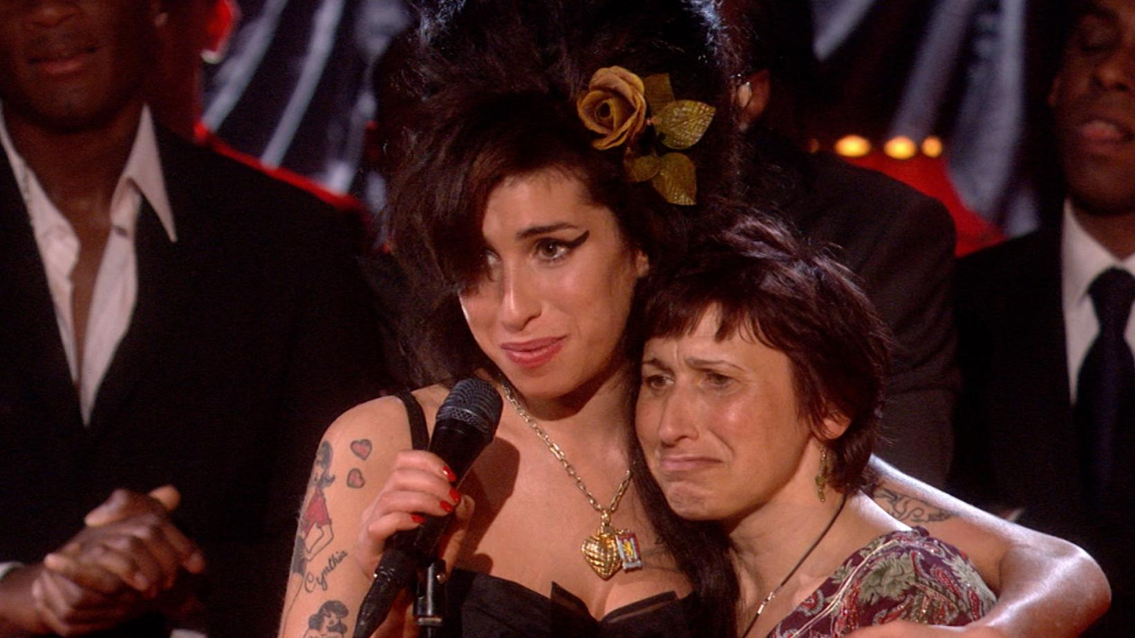 """Artwork for GRAMMY Rewind episode on Amy Winehouse Record Of The Year For """"Rehab"""""""