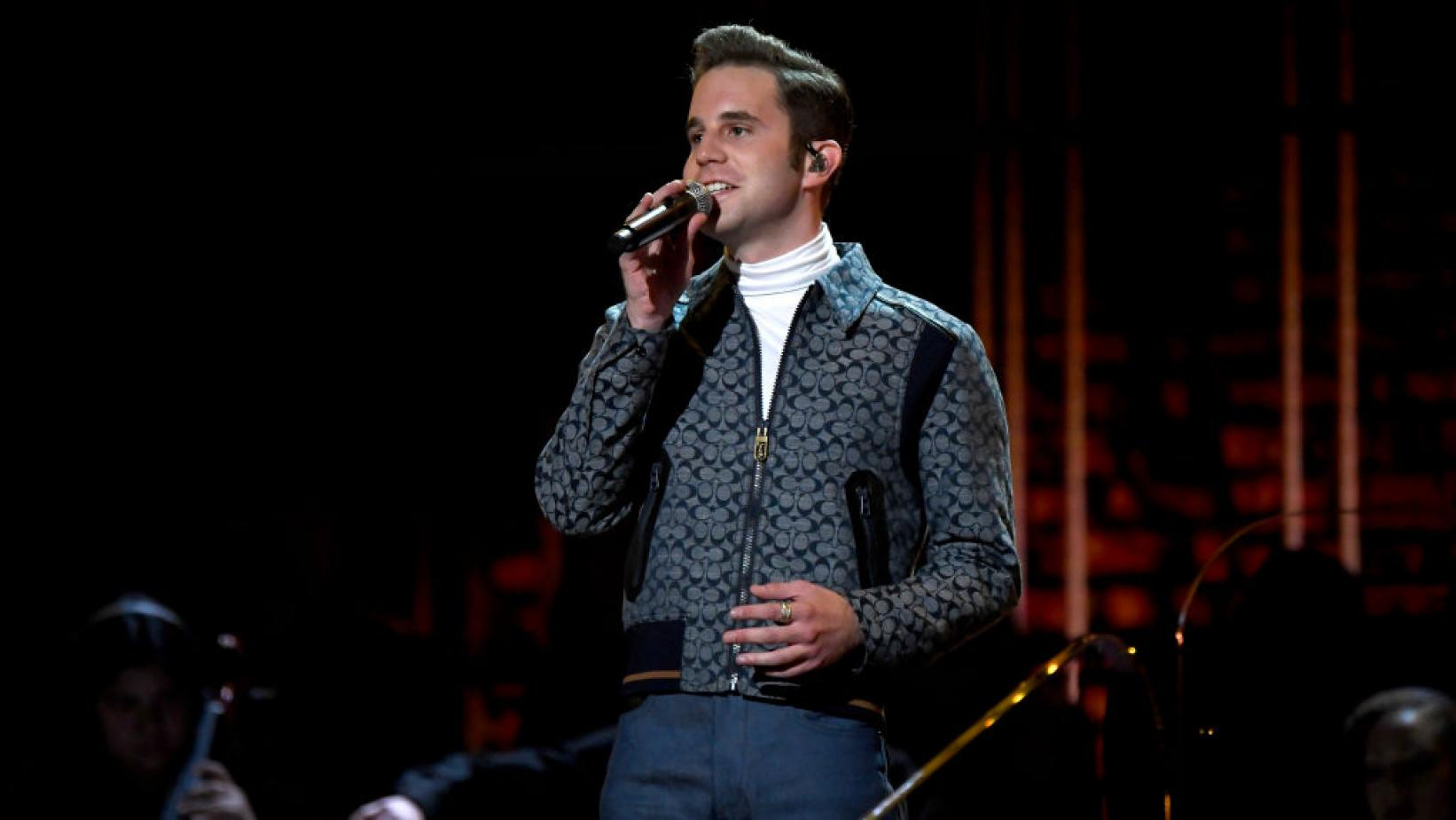 Ben Platt performs at the 62nd GRAMMY Awards in 2020
