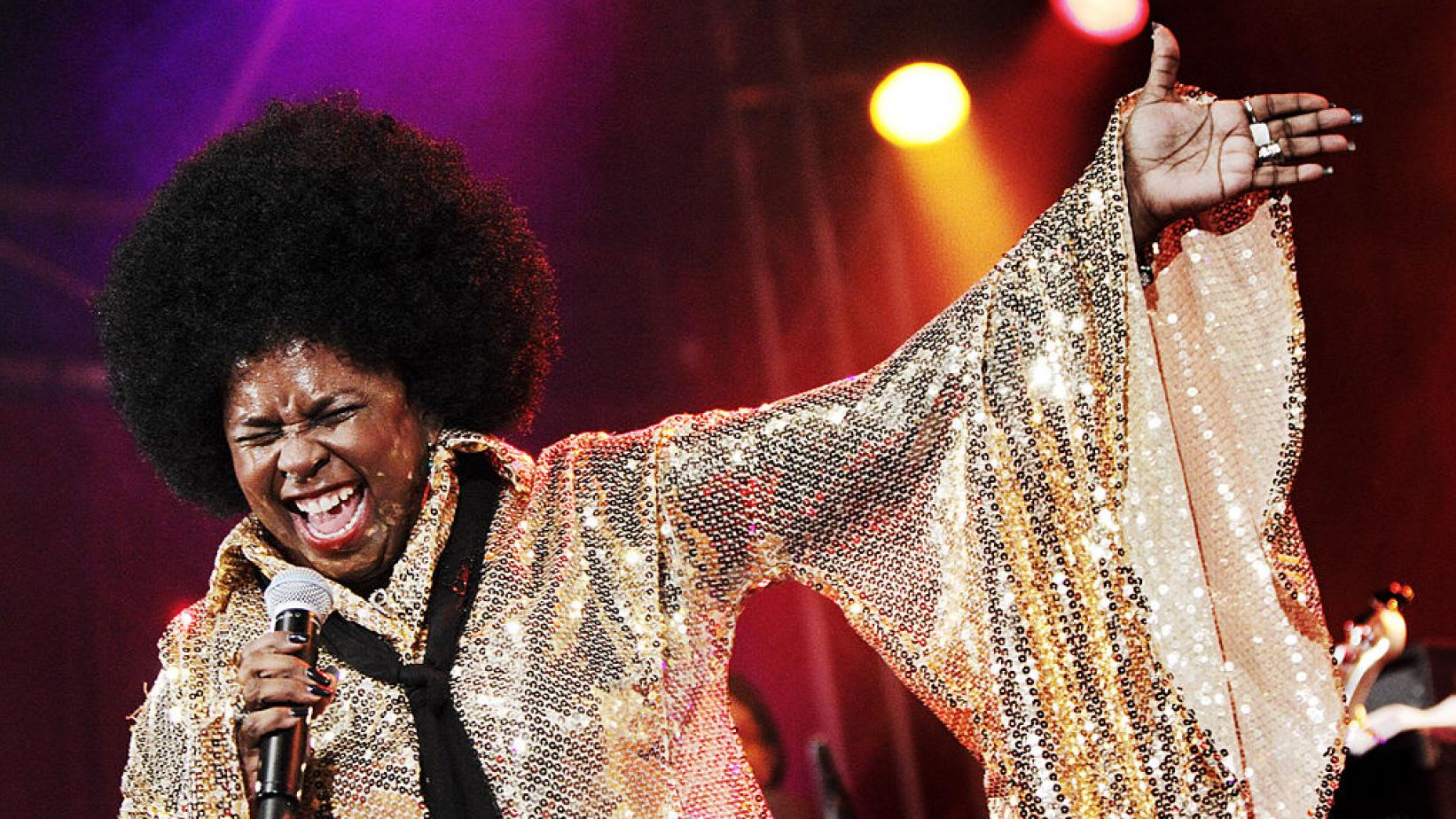 Betty Wright performs at the 2012 North Sea Jazz Festival