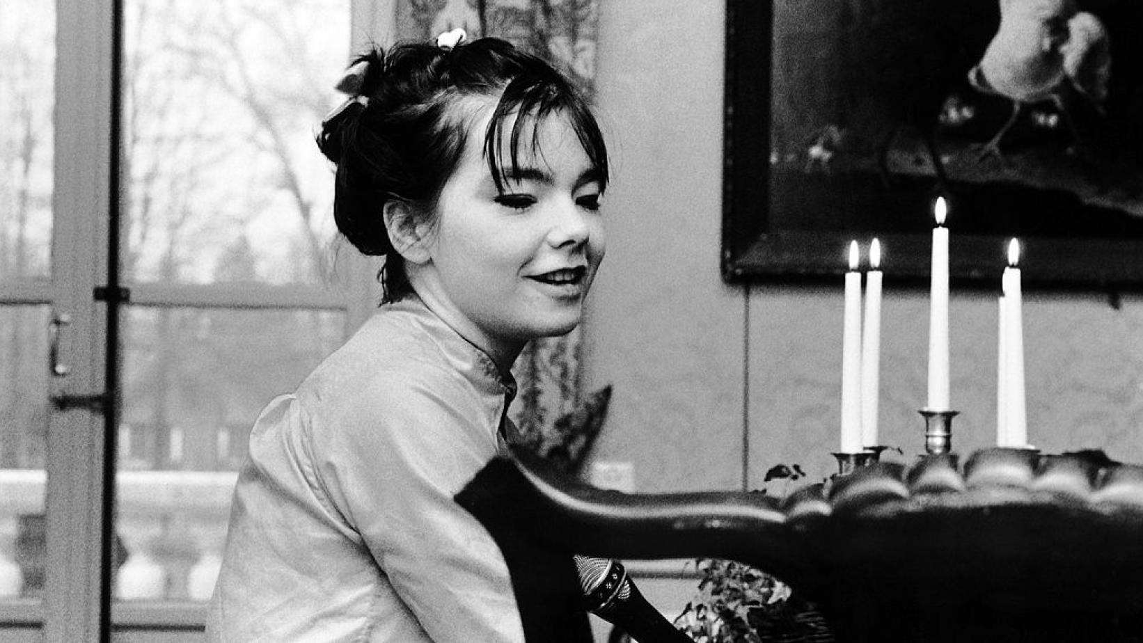 Björk in The Netherlands in 1995