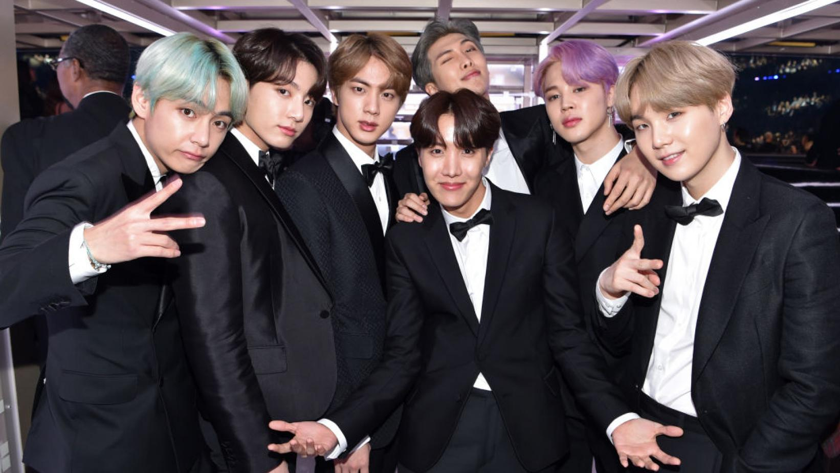 BTS at the 2019 GRAMMYs