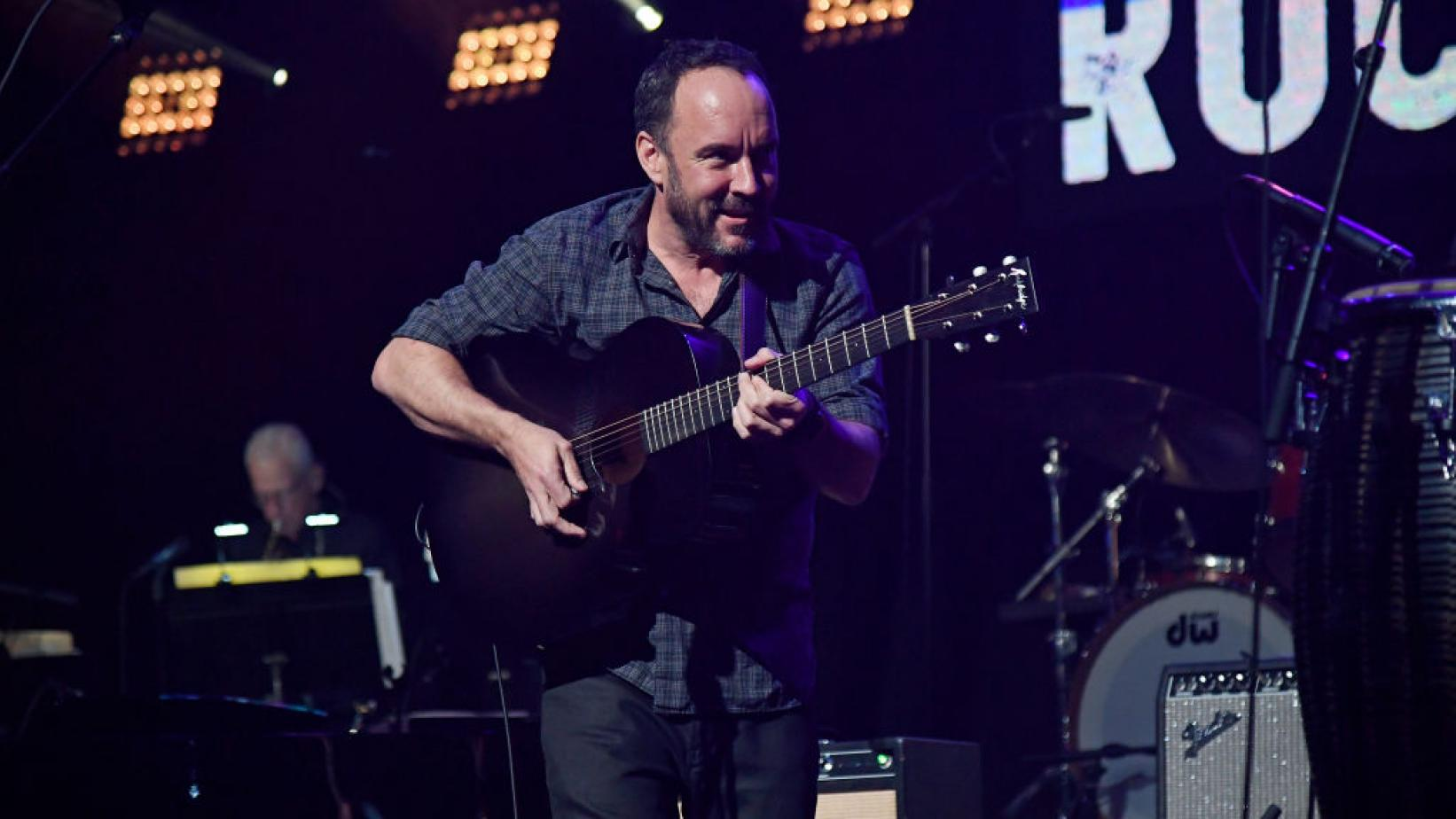 Dave Matthews performs at LOVE ROCKS NYC Benefit Concert in 2020