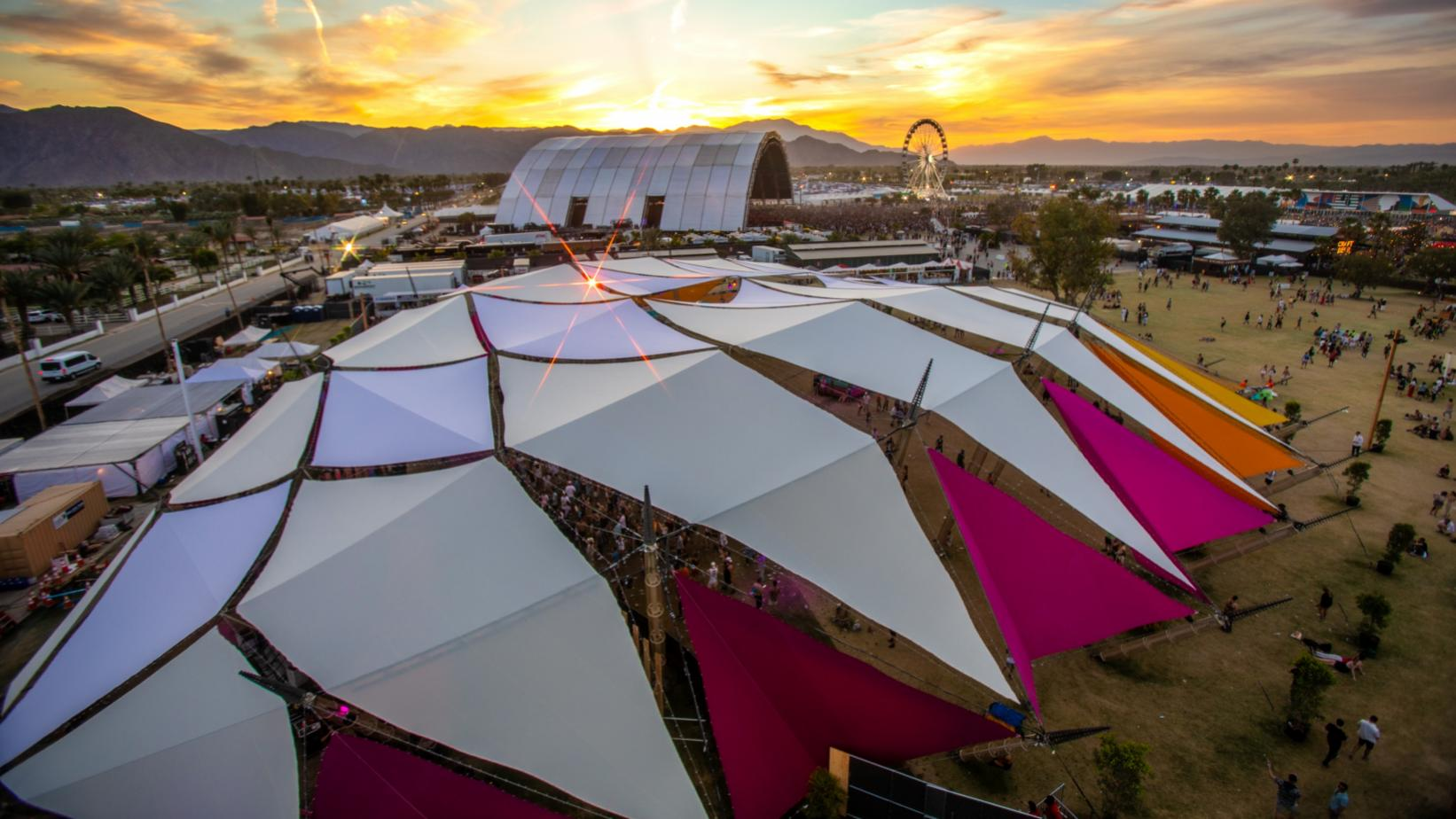The Do LaB stage at Coachella 2019