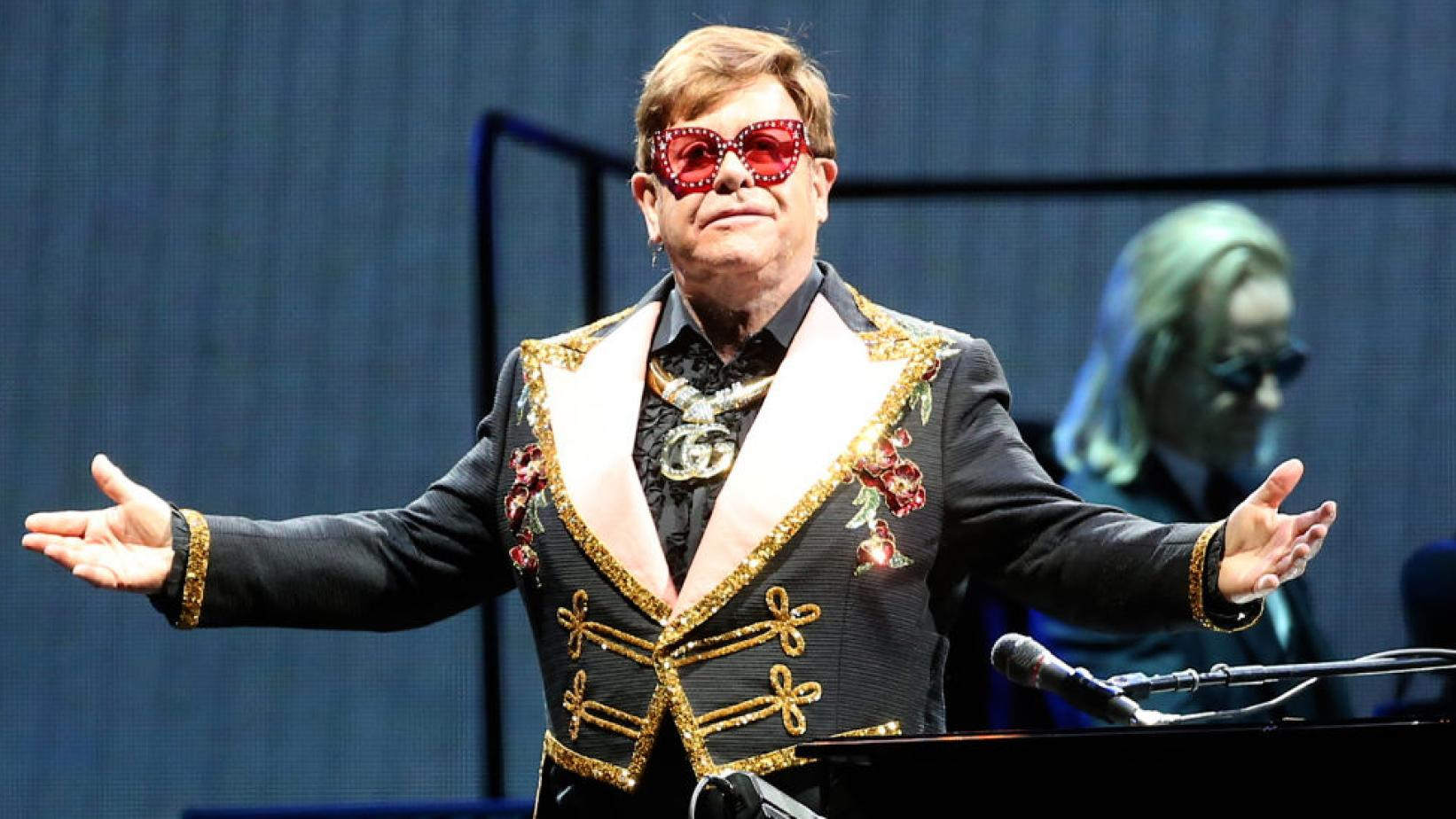 Elton John on Farewell Yellow Brick Road Tour