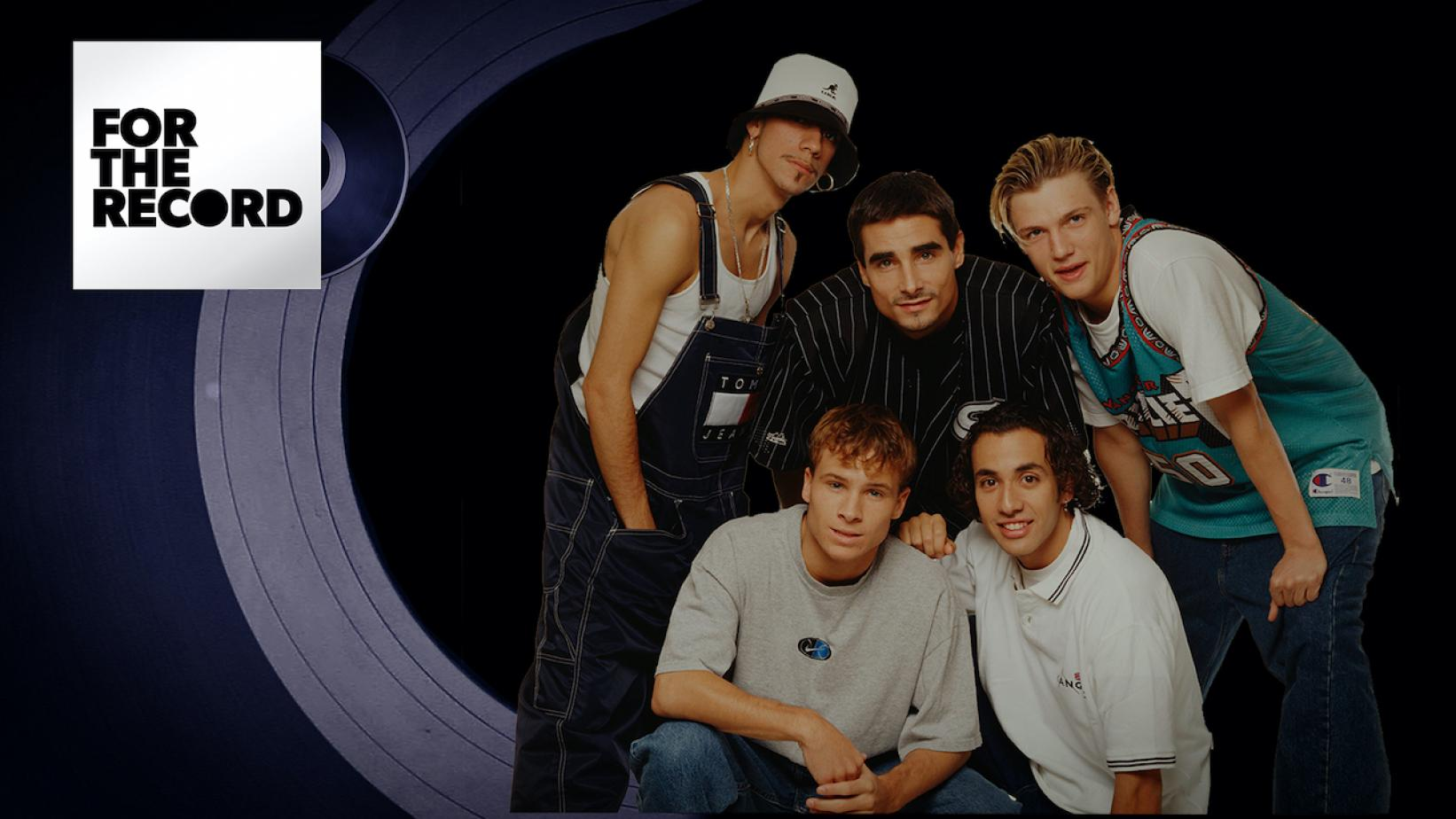 Artwork for For The Record episode with Backstreet Boys